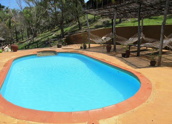 Kichanga Lodge: Zu kleiner Pool
