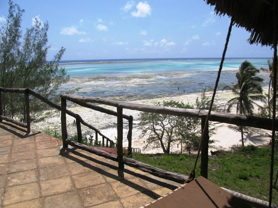 Kichanga Lodge: Aussicht von unserem Zimmer