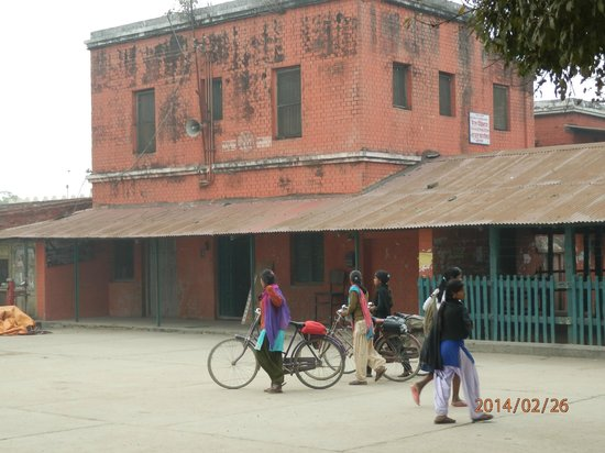 Janakpur, Непал: Only Rail Station of Nepal