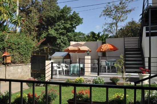 Biruk B&B Addis Abeba: Terrasse