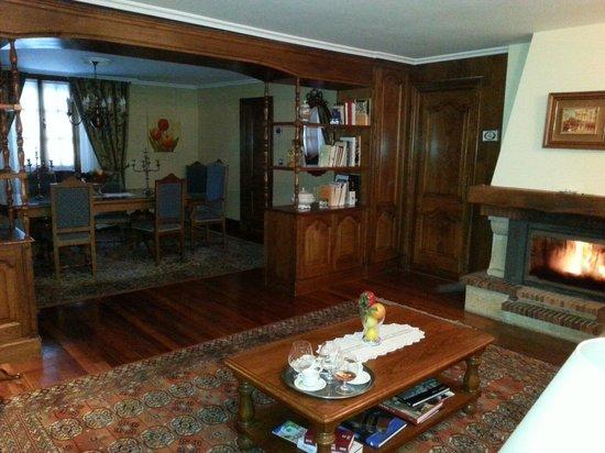 Casa Rural Jesuskoa: Salón