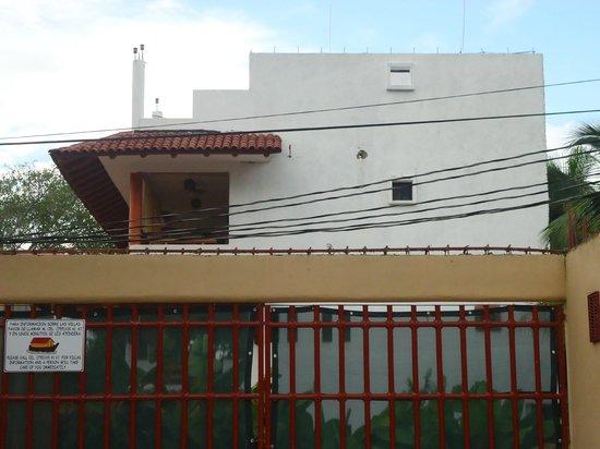 Villa El Arca: el edificio