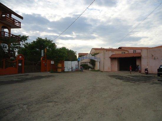 Villa El Arca: la calle del hotel