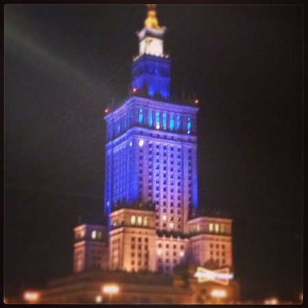 Polonia Palace Hotel: View from hotel