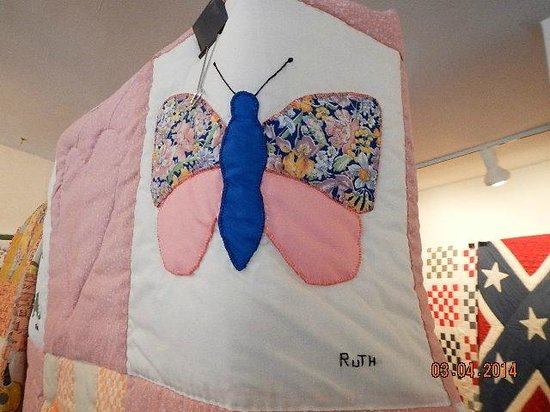 Museum of the Middle Appalachians: quilt room