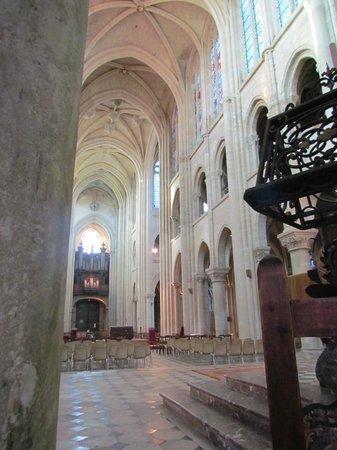 Cathédrale Notre-Dame de Laon : intérieur
