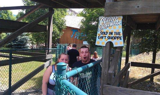 Silverwood Theme Park: Timber Coaster Oh My!