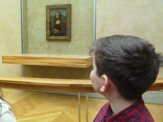 THATLou, Treasure Hunt at the Louvre : mona lisa