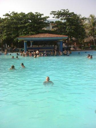 Hotel Riu Playacar : bar de la pileta