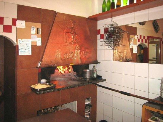Da Martino: Il forno