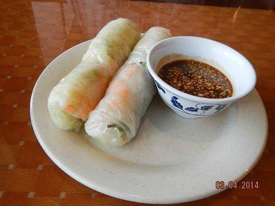 Pho Vietnam: spring roll