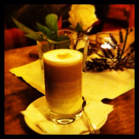 Hotel Cresta et Duc : Cafe latte