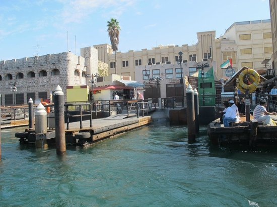 Dubai Creek : Imbarcazioni sul Creek
