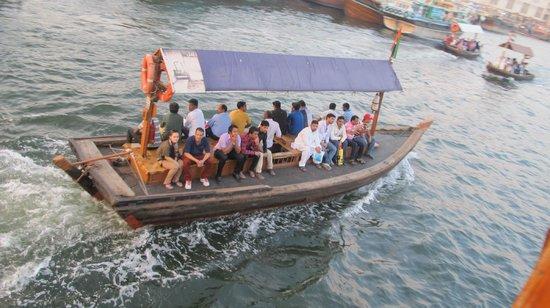Dubai Creek : Trasporto economico