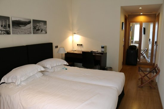 The Athens Gate Hotel : chambre