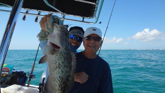 Atlantis House: One of the Gag Grouper Catch