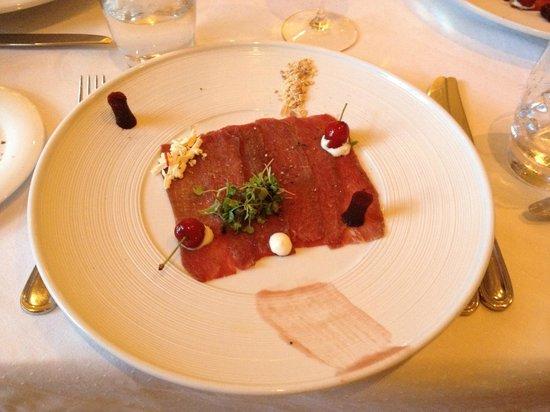 Ryan's Kitchen: Kudu carpaccio - yum!