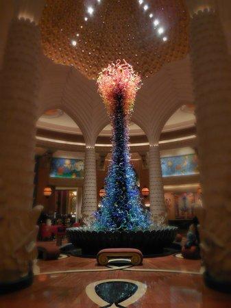 Atlantis, The Palm : Hall d'entrée