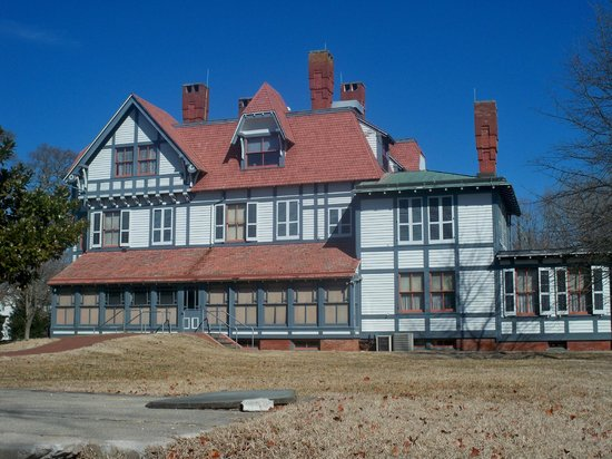 Emlen Physick Estate in the middle of winter