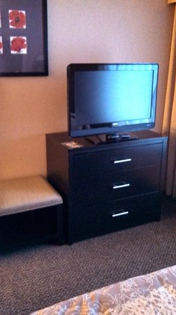 Cambria hotel & suites: TV in bedroom area