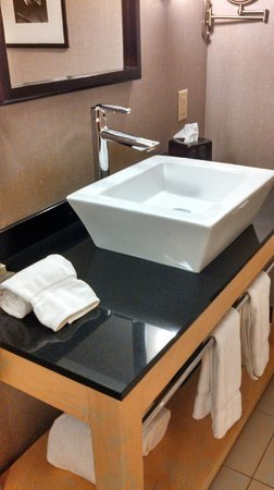 Cambria hotel & suites: Cool lav!