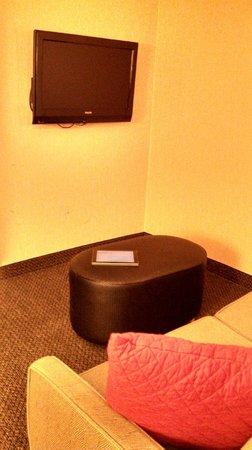 "Cambria hotel & suites : ""living room"" area"