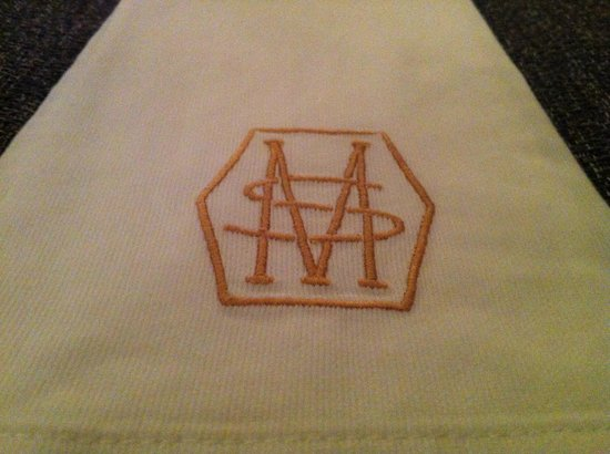 Simon Mansion Restaurant : NAPKIN.