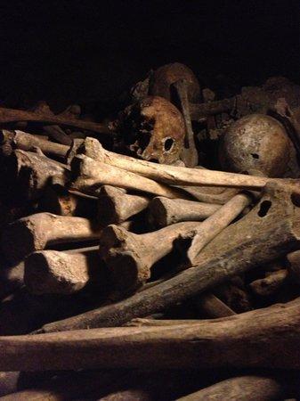 The Catacombs: overblijfselen