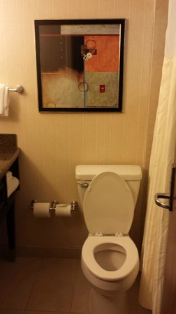 Hilton Newark Penn Station: Bathroom