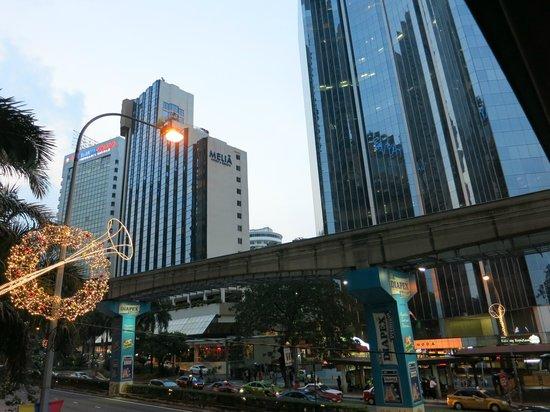 Melia Kuala Lumpur: Vue extérieure