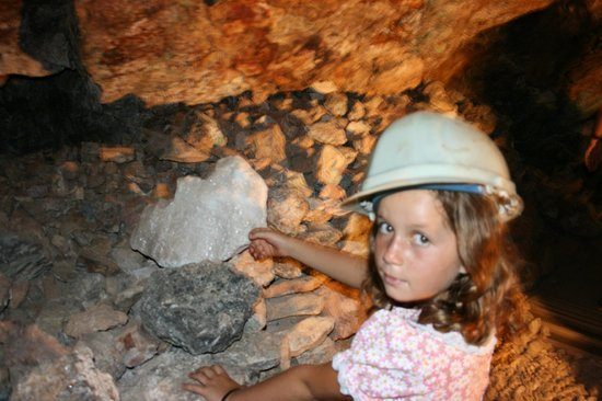 Good Enough Mine Tour: Down in the mine