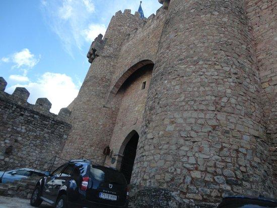 Parador de Siguenza: Entrada lateral do Castelo