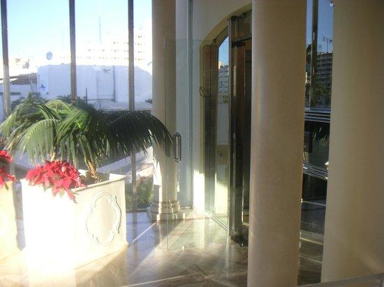 IFA Dunamar Hotel: offene Tür tagsüber