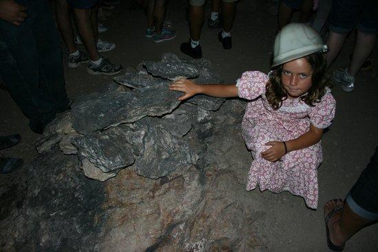 Good Enough Mine Tour: Raw silver ore