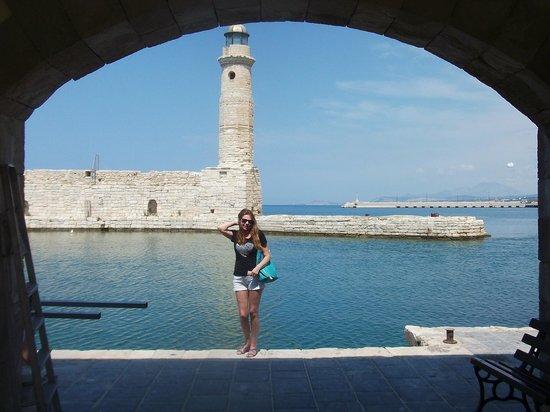 Kavros Beach: Крит