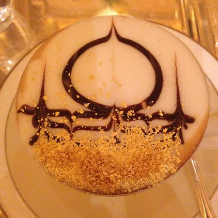 BBQ Al Qasr: The Emirates Palace signature cappucino