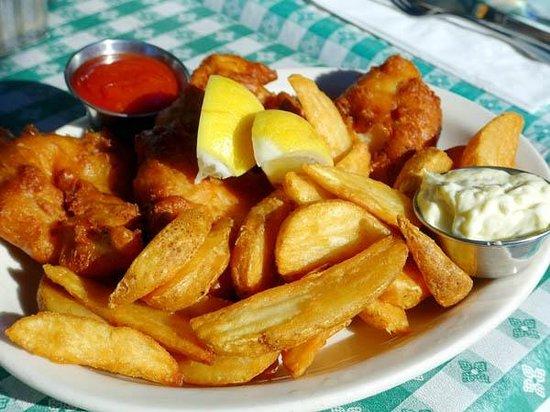Ketch Joanne Restaurant & Bar: Fish & chips