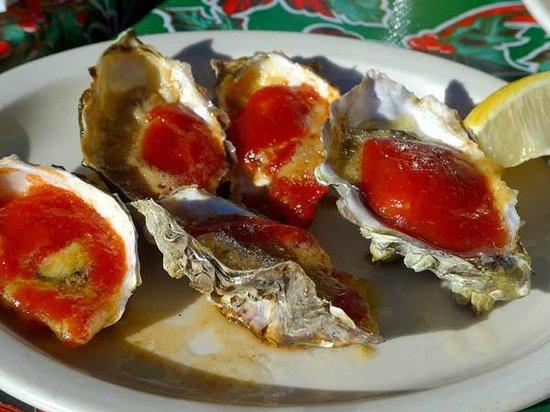 Ketch Joanne Restaurant & Bar : Baked oysters