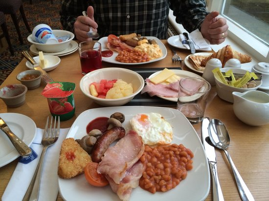 Best Western Grosvenor Hotel: Breakfast
