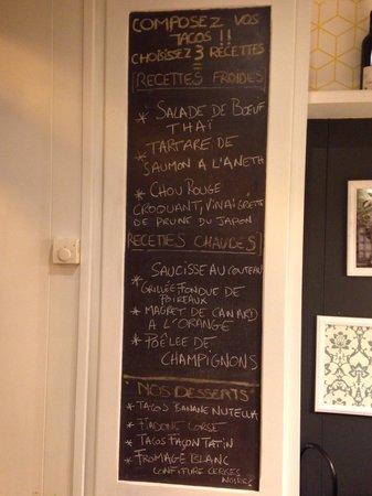 Ouh La La! - Cantine St Martin : Le menu du moment... qui évolue ttes les Semaines.