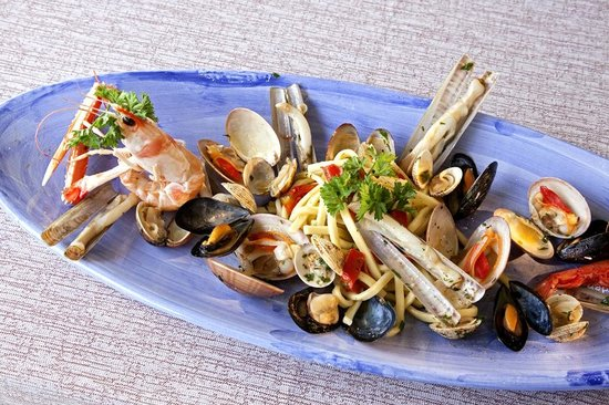 Garden Restaurant : THE SHELLFISH SOTE
