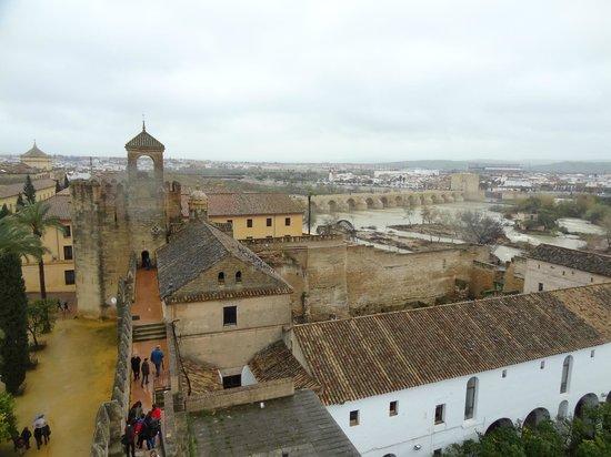 Alcazar de los Reyes Cristianos: Alcázar de los Reyes Cristianos-vistas desde arriba