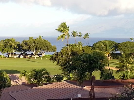 Maui Eldorado : View from upper floor unit in Building K