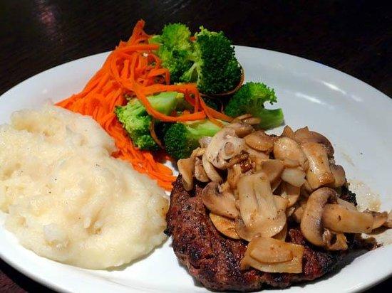 Rave Burger: Mushroom hamburger steak