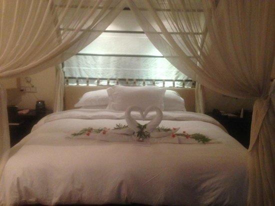 Hilton Seychelles Labriz Resort & Spa : Bed