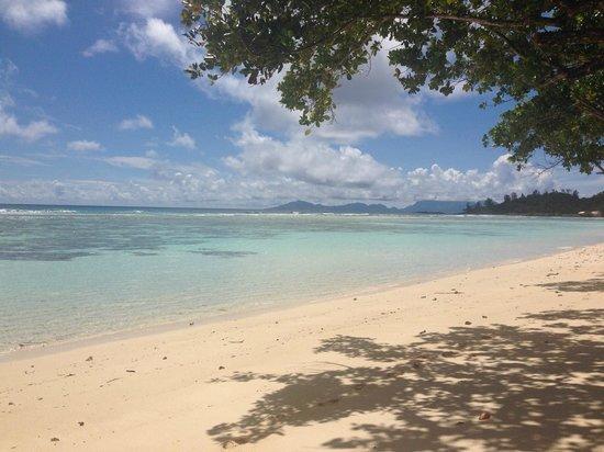 Hilton Seychelles Labriz Resort & Spa : Hotel Beach