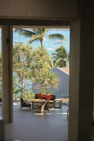 Amari Phuket: A view from the lobby bar area - huge window - stunning scenery!