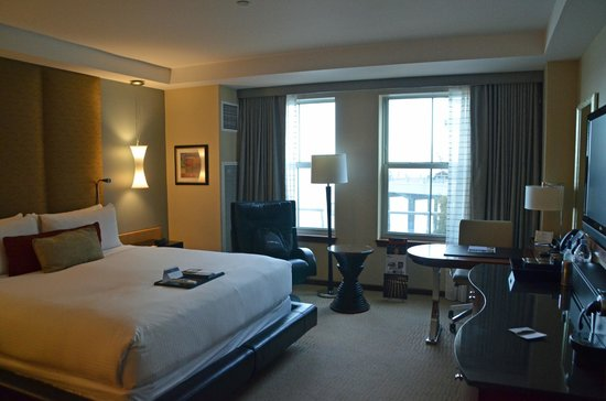 Battery Wharf Hotel, Boston Waterfront: Room 3134 interior