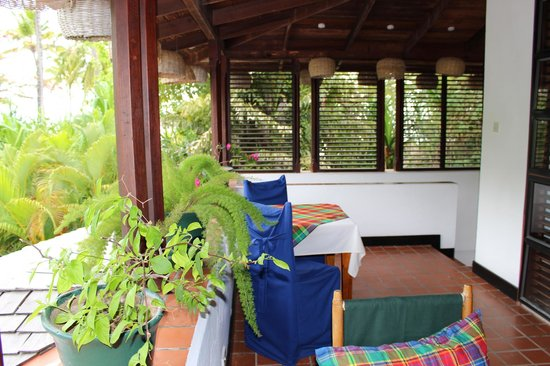 Anse Chastanet: porch