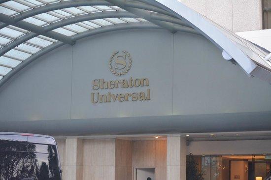 Sheraton Universal Hotel: front